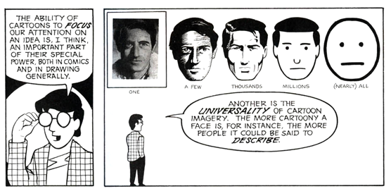 From Scott McCloud's Understanding Comics